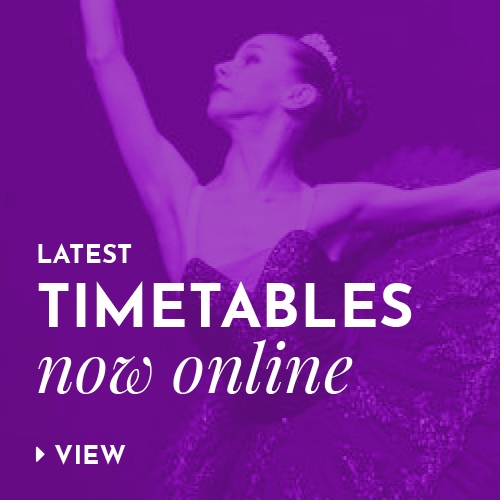 Latest timetables now online