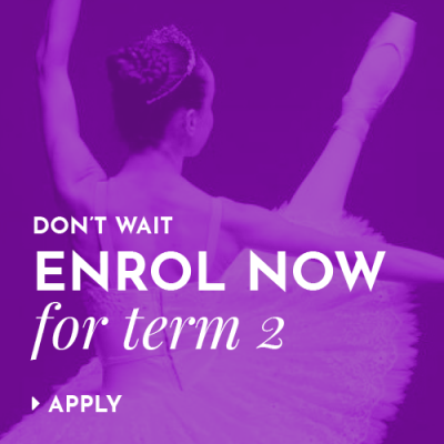 Don't wait, enrol now for term 2